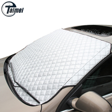 YIKA Car Window Sunshade Car Snow Covers For SUV And Ordinary Car Sun Shade Reflective Foil Car Windshield Snow Blocked Anti-UV(China (Mainland))