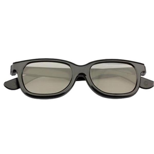 Black 3D Glasses Suits Passive LG Panasonic Sony TVs Monitor Movie Game DVD(China (Mainland))