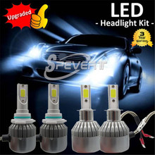 Buy SPEVERT 110W 20000LM LED Headlight Bulb H1 H7 H3 H8/H9/H11 9005/HB3/H10 9006/HB4 881/H27 5202/H16 6000K Series Conversion Kit for $32.59 in AliExpress store