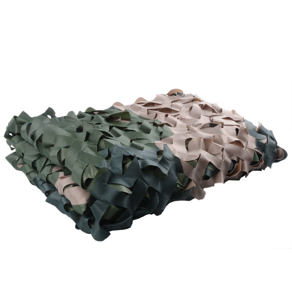 Hot sale! 1.5*4 m Three color woodland camouflage netting for household decoration /car protection/military camo net(China (Mainland))