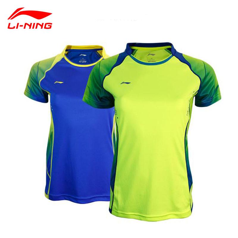 2015  Summer New Women Badminton Tennis Shirts Authentic Lining Ladies Badminton Professional Sportwear Quick Dry Tshirt AAYK042<br><br>Aliexpress