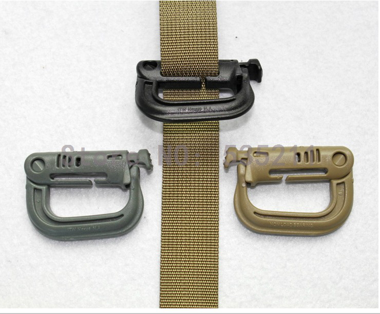 4 pieces Tab tactical grip quick release big d outdoor mountaineering bag buckle backpack fastener package - ali's store 535211