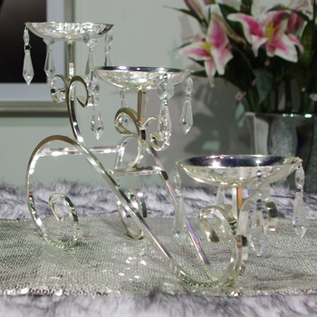 Candle Metal candle table trapezoidal fashion modern home decoration wedding decoration
