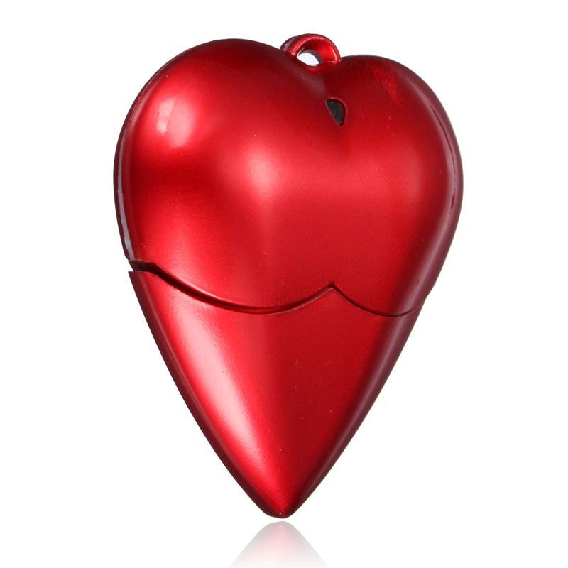 New Widespread Crimson Love Coronary heart Fashion MECO 2GB/4GB/8GB/16GB/32GB USB 2.zero Flash Pen Drive USB Memory Thumb Stick Pendrive U Disk