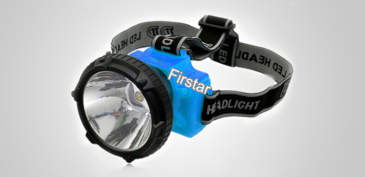 Outdoor Lighting LED Mining Lights Portable Headlamp Lantern 1W Rechargeable Cap Lamp - Firstar(MyLED store Optoelectronics Co.,Ltd)