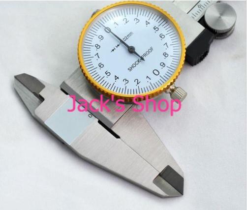 Бесплатная доставка 150/0. 02 мм из нержавеющей стали циферблат Cailper измерительный инструмент