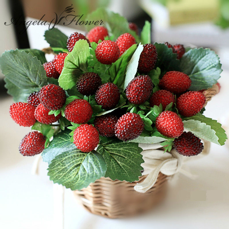 Free shipping 9 fruit decoration flower artificial fruit for Artificial fruit for decoration