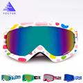 VECTOR Brand Ski Goggles Kids Double Lens UV400 Anti fog Ski Snow Child Skiing Glasses Winter