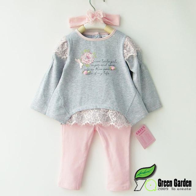 На время 1 - 5 2015 весной ребенок устанавливает одежда девушки кружева лоскутная ...
