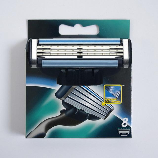 8 шт./лот Класса Качества + + мужчины бритья бритва лезвия бритвы лезвия для мужчин Стандарт RU & Евро и США