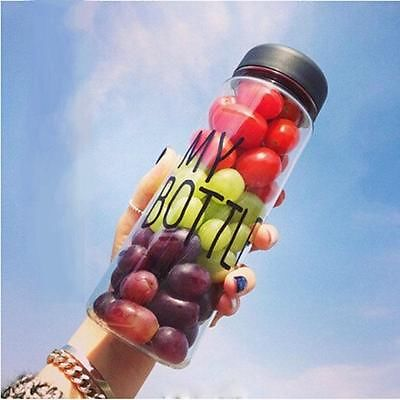 500ml Today's Special My Bottle fashion outdoor sport juice water bottle cup CA(China (Mainland))