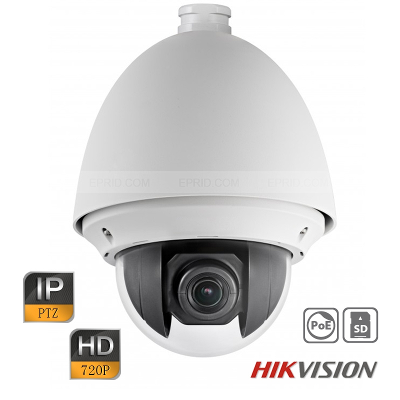 Hikvision 1MP 720P 20x Optical Zoom Waterproof PTZ Dome Network IP Camera POE+<br><br>Aliexpress