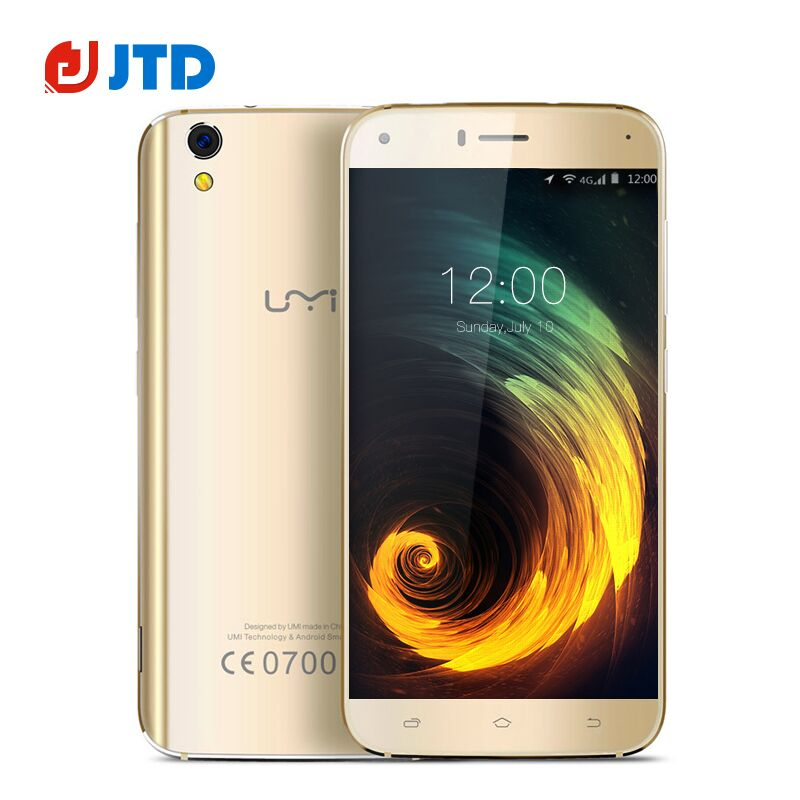 5.5 Inch New Umi Diamond Smartphone Octa Core MTK6753A Android 6.0 3G RAM+16G ROM 8MP Camera 4G LTE Mobile Phone(China (Mainland))