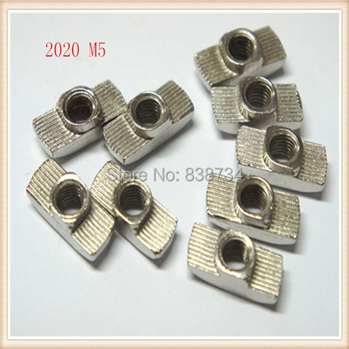 low price steel with sliver nickel plated 2020 m5 hammer nut<br><br>Aliexpress