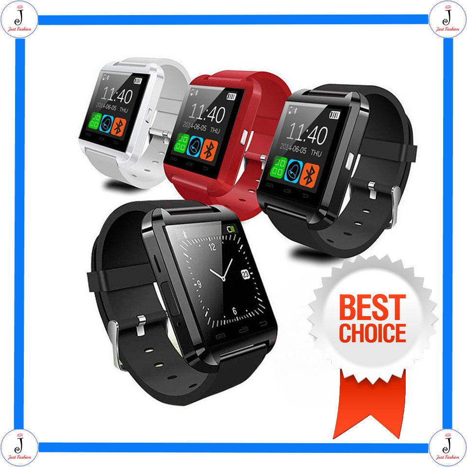 Гаджет  Hot Selling Bluetooth 4.1 U8 Smart Watch For Iphone/Samsung/HTC/LG 190MAH Battery Support Fitness Tracker High Quality In Stock None Бытовая электроника