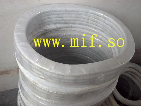 Graphite from graphite composite gaskets coke chamber cushion pad picture pad reactor gasket tetrafluoroethane(China (Mainland))