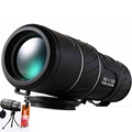 Black HD Compact Monocular Zoom 50x52 Zoom Telescope Binoculars high power high definition Adjustable Daytime hot
