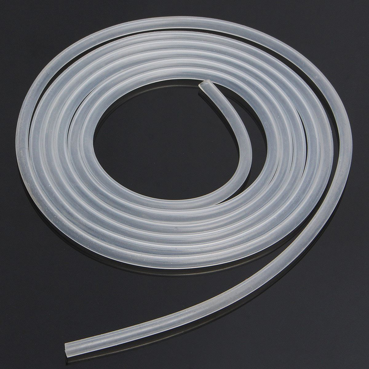 2 meters/lot 3mm*5mm High and low temperature resistance tasteless non-toxic Clear Food Grade Silicone Hose Tube Pipe(China (Mainland))