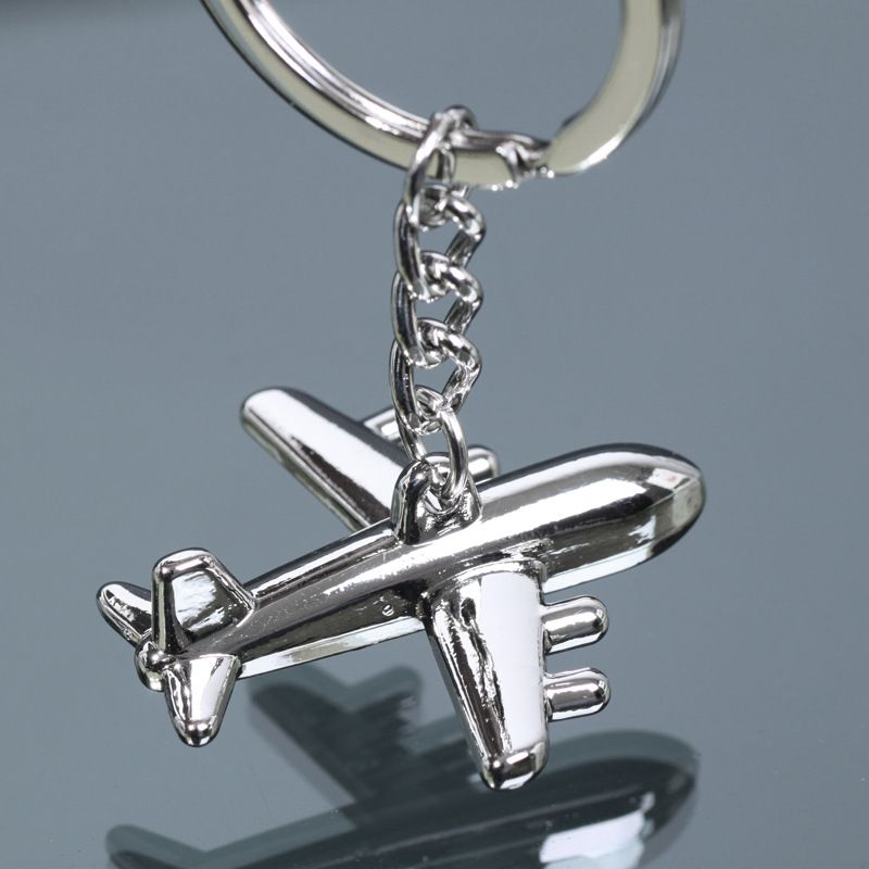 New arrival alloy American Airlines aircraft key chain fashion keyring Unique plane key chain for Men Women Jewelry Gift(China (Mainland))