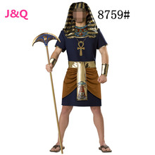 New Hallowmas Masquerade Ancient Egyptian Pharaoh Role Play Clothing Film Cosplay Clothing Men's New Game Uniform H1592624