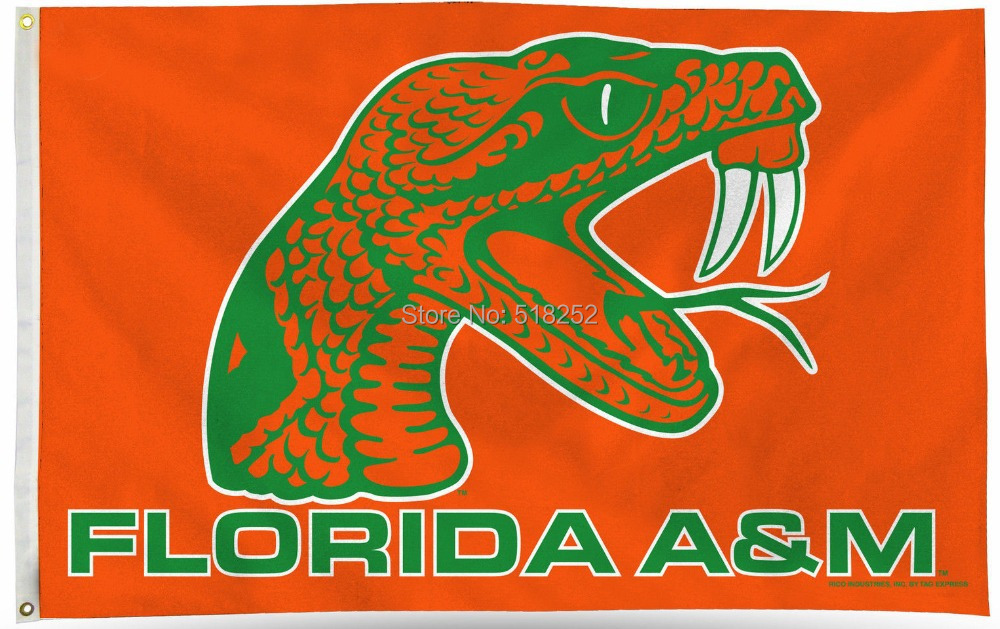 NCAA Florida A&M Flag 3x5 FT 150X90CM Banner 100D Polyester flag 1002, free shipping(China (Mainland))