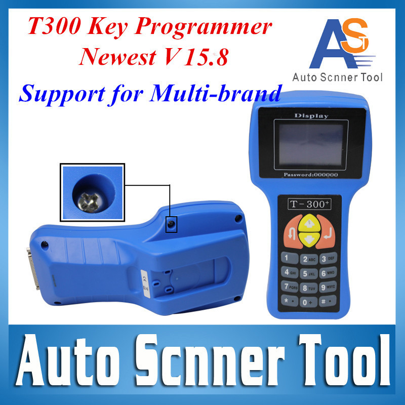 2015 T-300 V15.8 Code Pro Auto Transponder Key Programmer T-code Pro T300 Key T 300 Supplier for Multi-Brands Cars Discount(China (Mainland))