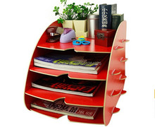 wholesale magazine racks wood