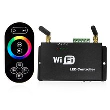 WiFi RF Remote Controller Wifi RGB/Dual/Single Color LED Dimmer Android IOS for WS2811 WS2812B 6803 RGB LED Strip light(China (Mainland))