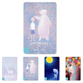 Funny Cute Style Fuzzy picture Coloured Drawing Fashion 5600mAh Power Bank External Battery Portable Slim Charger