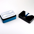 Beatiful plastic lunch box 730ml Lovely Hand Portable bento box for kids With Set Plastic Container