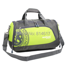 2014 man and woman portable travel commercial gym bag with one shoulder cross body sport bag