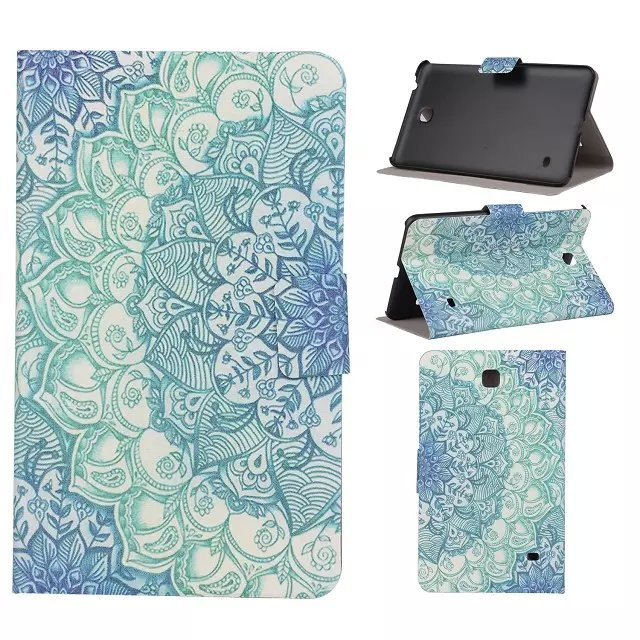 For samsung galaxy tab 4 8.0 T330 case cover Fashion cute cartoon design PU leather tablet accessories T331 T335(China (Mainland))