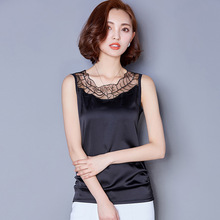 plus size women's sleeveless tank tops with mesh hollow out big size loose style sexy summer women's tops best selling cheap(China (Mainland))