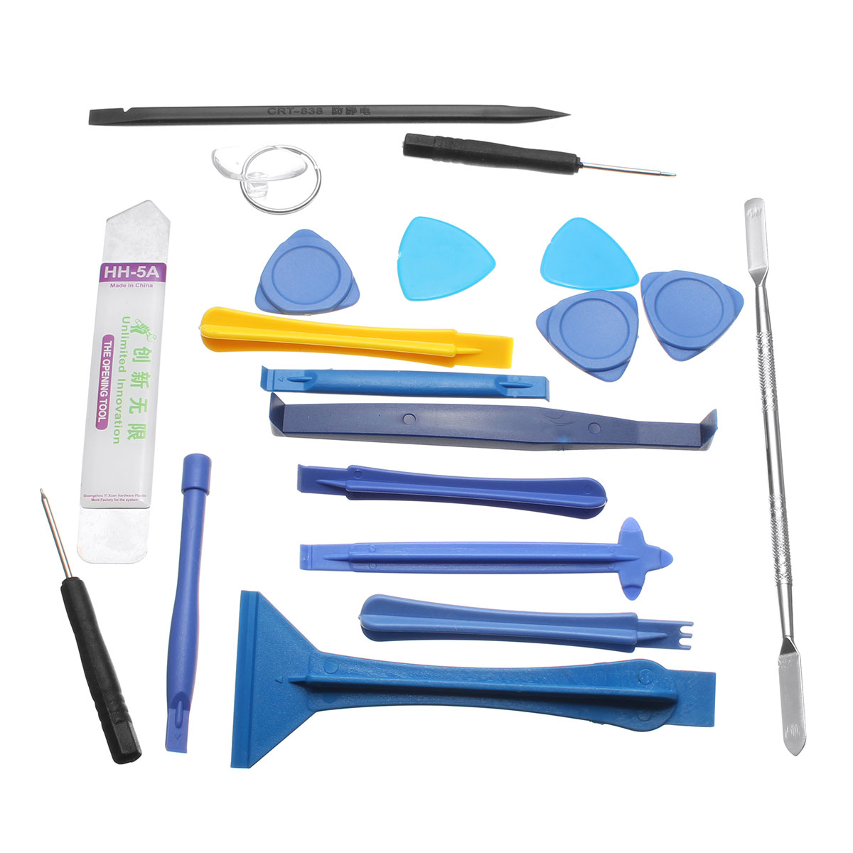 19 Pcs Repair Tools Laptop Phone&Screen Disassemble Tools Set Kit For i-Phone For i-Pad Cell Phone Tablet PC(China (Mainland))