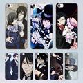 Anime Black Butler Ciel Phantomh design transparent clear hard Case Cover for Xiaomi Mi 4 4c