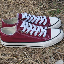 Men and women of the most popular commuter high help   low canvas shoes leisure and fashion style(China (Mainland))
