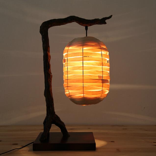 style restoring ancient ways american wood bedroom lantern table lamp. Black Bedroom Furniture Sets. Home Design Ideas