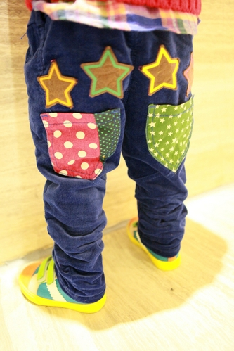 Cattle cattle shop 2013 children's autumn and winter clothing male personality thickening child corduroy trousers(China (Mainland))