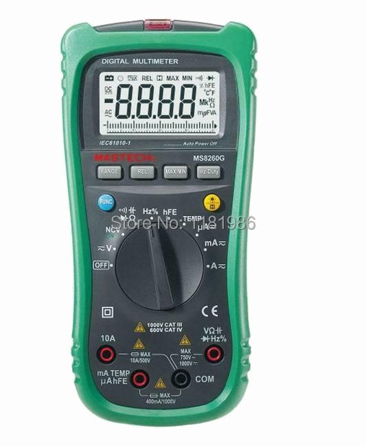 Мультиметр MASTERCH DMM NCV MS8260G мультиметр defort dmm 1000n