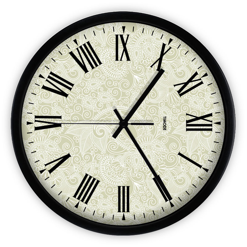 large metal modern wall clocks european style grande horloge murale kitchen hours digital rustic. Black Bedroom Furniture Sets. Home Design Ideas