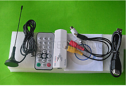 USB 2.0 Analog Signal TV Receiver Adapter Tunner Box for Laptop PC(China (Mainland))