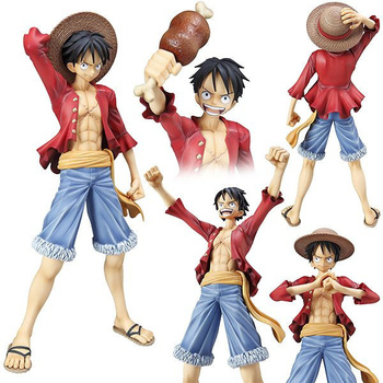 New ! Free Shipping Anime figures One piece Luffy 2 years later version action figures pvc figures best for children gift!