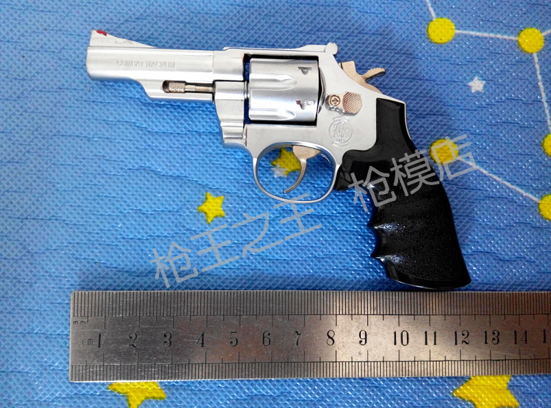 Smith & Wessonrevolver M29 matt brushed metal gun model,M29 revolver model, model toy gun, - GreatMallChina,Ltd store