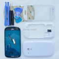 Original Replacement Parts Full Housing Case Cover For Samsung Galaxy S3 Mini i8190 Front Outer Glass