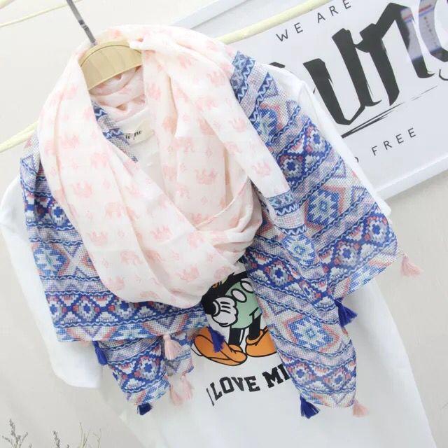 2016 summer scarf women Persian Mia ethnic fashion wild solid tassel scarf shawl sun beach towel air conditioning cape(China (Mainland))