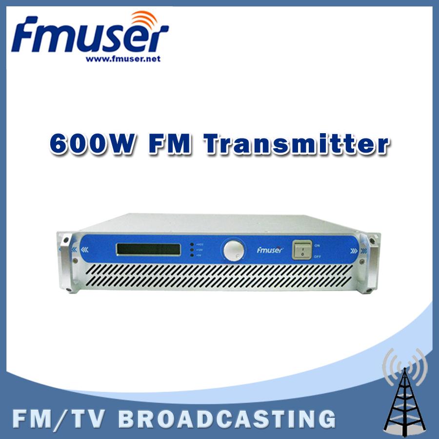 Free shipping FMUSER 600W 2U FSN-600 Professional FM Broadcast Radio Transmitter 87.5-108 MHz 0-600w(China (Mainland))