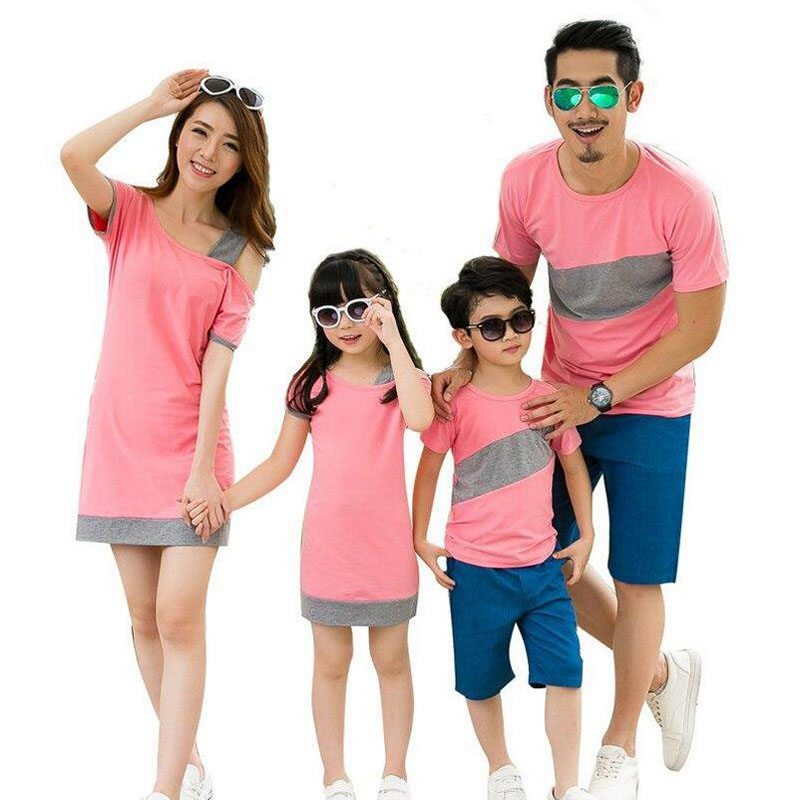 2016 Family Matching Outfits Summer Family Look Matching ...