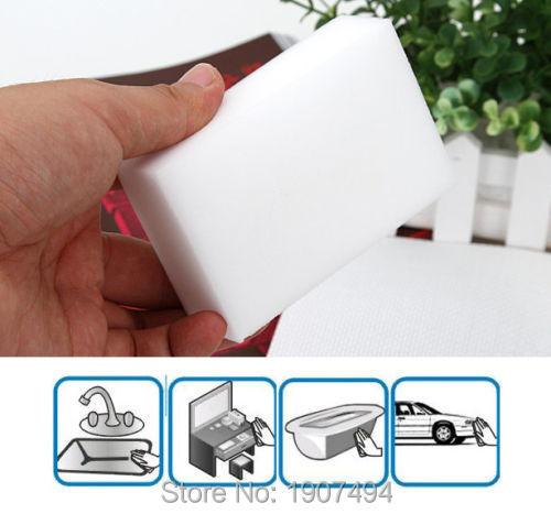 50 x Multi-functional Cleaning Sponge Eraser Foam Magic Cleaner Melamine Pad(China (Mainland))