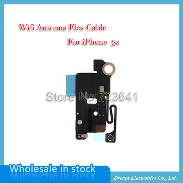 10pcs/lot Free shipping wifi Signal antenna flex cable Assembly For iPhone 5S(China (Mainland))
