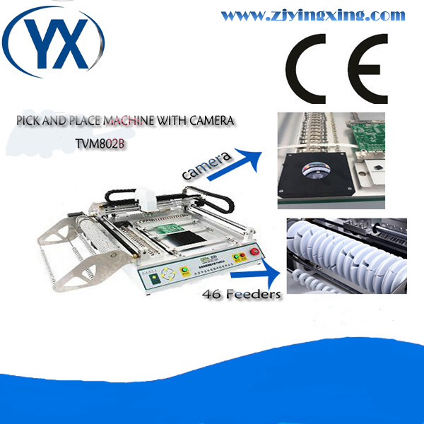 Hot Sale SMT Pick and Place Machinery TVM802B Pick and Place SMT Desktop Low Cost For SMD Pick and Place(China (Mainland))